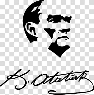Atatürk Silüeti Silhouette Drawing, Silhouette PNG