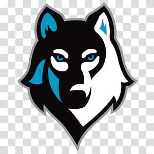 Wolf Logo eSports League of Legends, wolf PNG