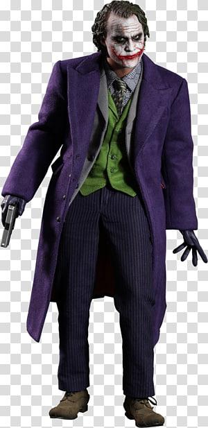 Joker The Dark Knight Heath Ledger 1:6 scale modeling Hot Toys Limited, joker PNG