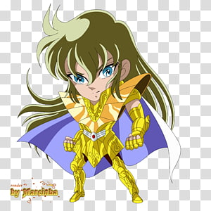 Shaka Pegasus Seiya Cancer Deathmask Saint Seiya: Knights of the Zodiac Chibi, shaka PNG