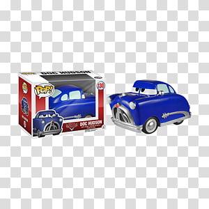 Doc Hudson Mater Lightning McQueen Funko Cars, doc hudson PNG clipart