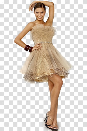 Cocktail dress Fashion Gown Wedding dress, dress PNG