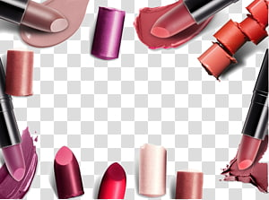 assorted-color lipstick , Nail polish Lipstick Lip gloss Cosmetics Make-up, Makeup Supplies PNG clipart