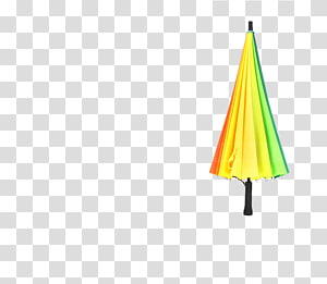 Triangle Yellow Pattern, umbrella PNG clipart