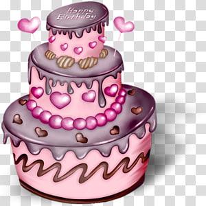 Birthday cake Happy Birthday, Birthday PNG clipart