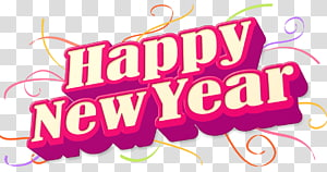 New Year\'s Day New Year\'s Eve , happynewyear PNG clipart