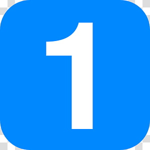 Number , Number 1 PNG clipart