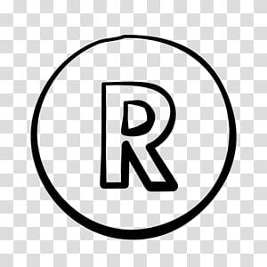Registered trademark symbol Logo, trademarks PNG clipart