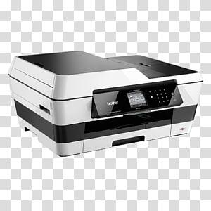 Multi-function printer Inkjet printing Brother Industries, printer PNG