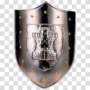 Puerta de Bisagra Nueva Toledo Middle Ages Shield, Shield PNG