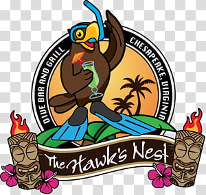 Logo Tiki bar , design PNG clipart