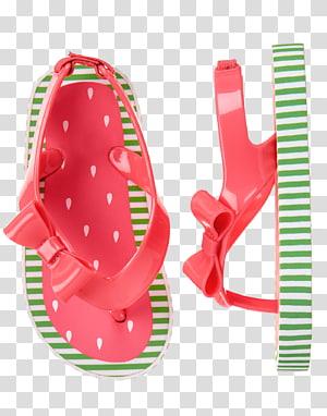 Shoe Flip-flops Gymboree Watermelon, flop PNG clipart