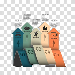 Infographic Template Icon, material arrow ppt and ppt icon PNG clipart