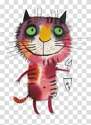 Cat Drawing Illustrator Art Illustration, Cartoon cat illustrations PNG