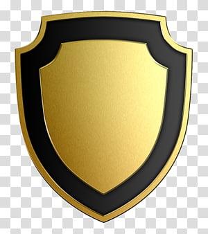 Shield , Brass PNG