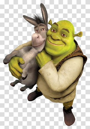 Shrek and donkey illustration, Donkey Shrek The Musical Princess Fiona Lord Farquaad, shrek PNG