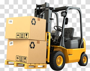 Forklift Caterpillar Inc. Business Warehouse Heavy Machinery, Business PNG clipart