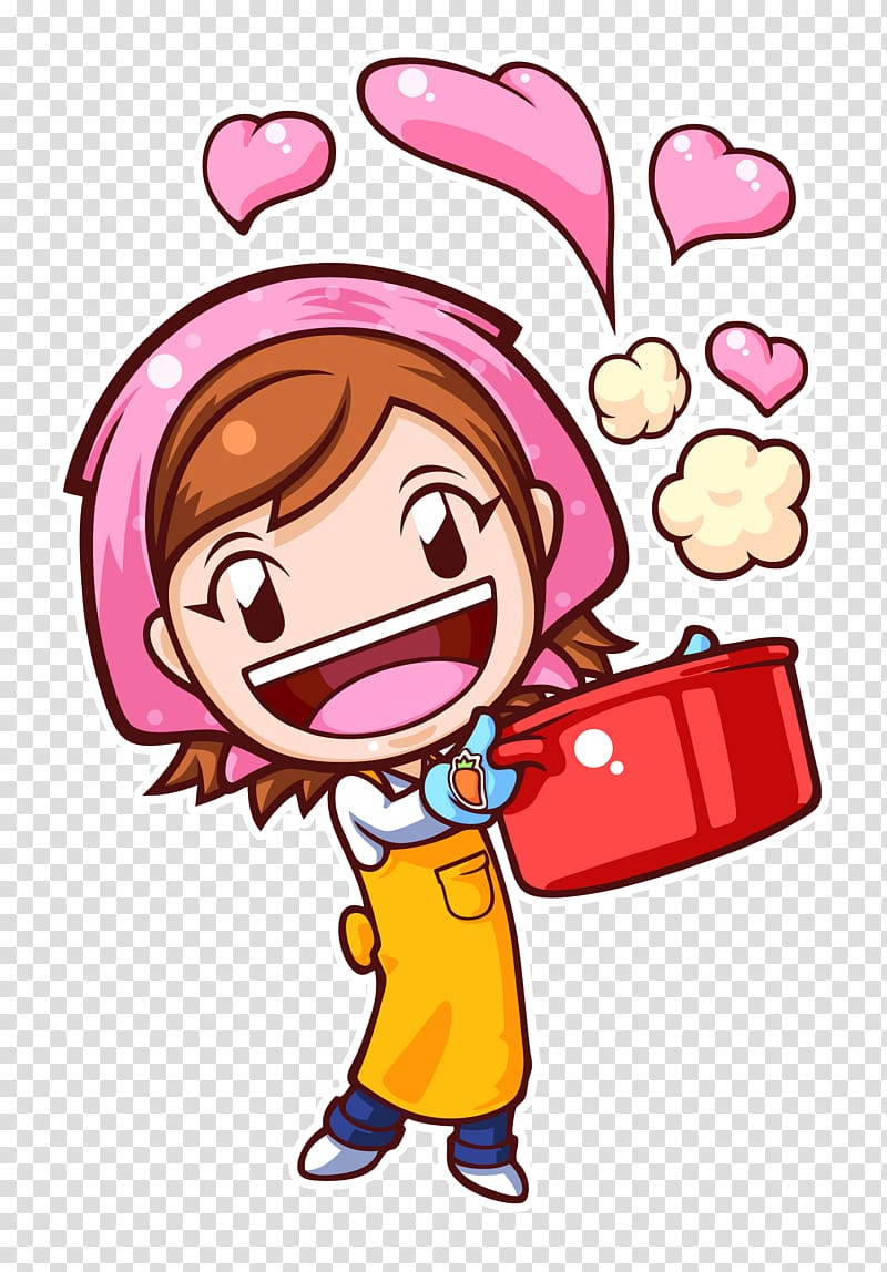 illustration of woman cooking, Cooking Mama: World Kitchen COOKING MAMA Lets Cookuff01 [Puzzle] Cooking Mama, Cooking PNG clipart