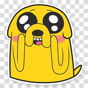 Jake the Dog Sticker White House, adventure time PNG clipart