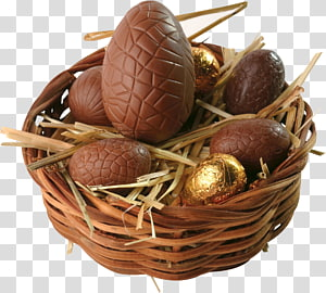 Mini Eggs Easter egg Chocolate Easter basket, chocolate PNG clipart