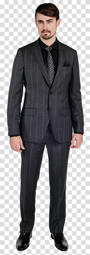 Suit Formal wear Tuxedo Clothing Blazer, dark suit PNG