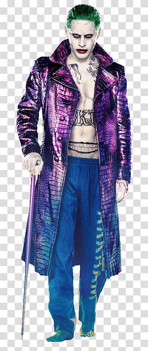 The Joker, Jared Leto Suicide Squad Joker Harley Quinn Batman, joker batman PNG