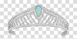 Emerald Tiara Crown Jewellery Bride, Tiara PNG