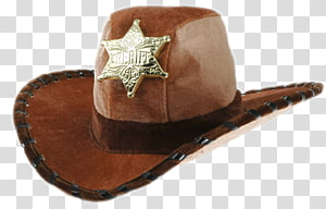 Child Cowboy Halloween costume Sheriff Hat, Western Saloon PNG