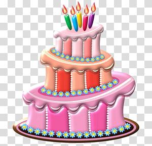 Birthday cake Torte Cake decorating Torta, Birthday PNG clipart
