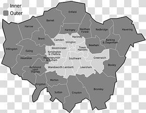 Inner London Outer London London boroughs Royal Borough of Greenwich London Borough of Waltham Forest, fringe PNG