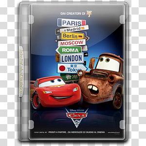 Lightning McQueen Mater Sally Carrera Doc Hudson, car PNG clipart