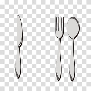 Fork Knife Table Spoon, cutlery spoon PNG