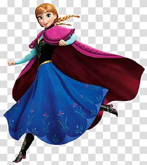 Elsa Anna Olaf , Anna Frozen PNG clipart