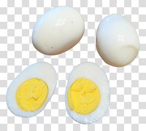 Boiled egg Chicken Egg white Yolk, Egg PNG clipart