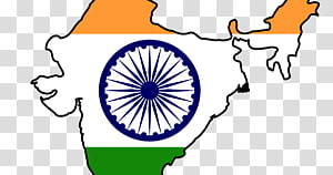 Indian map, Indian independence movement Flag of India Map, flag india PNG clipart