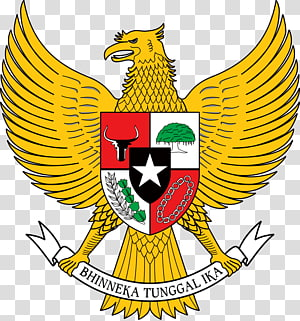 National emblem of Indonesia Garuda Logo, symbol PNG clipart