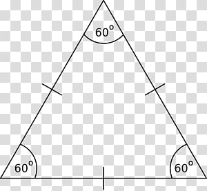 Equilateral triangle Equilateral polygon Isosceles triangle Right triangle, triangle PNG