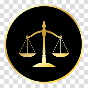 gold balance scale illustration, Lawyer Justice Symbol Law firm, law PNG