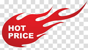 Sticker Sales , Hot Price Fire Sticker , white hot price text with red flame background illustration PNG