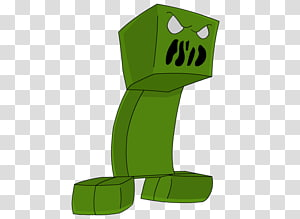 Minecraft Creeper Cartoon Comics , Minecraft PNG
