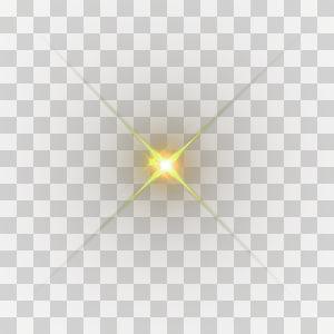 golden light effect element PNG clipart