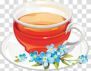 Flowering tea Green tea Coffee Earl Grey tea, Tea Cup PNG