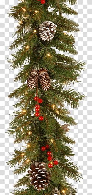 Christmas tree Christmas lights Garland Christmas ornament, pinheiro PNG clipart