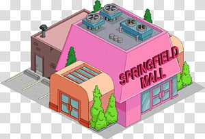 Springfield Town Center The Simpsons: Tapped Out Homer Simpson Krusty the Clown, escalator PNG