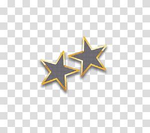 Galatasaray S.K., Gold frame pentagram PNG clipart