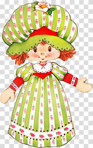 Strawberry Shortcake Doll Angel cake Angel food cake, doll PNG clipart
