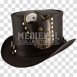 Top hat Steampunk fashion Clothing, Steampunk Hat PNG clipart