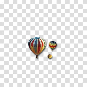 Poster , Hot air balloon decorative pattern PNG