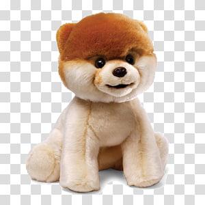Pomeranian Boo Stuffed toy Gund Plush, Boo Dog File PNG