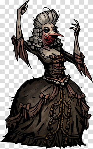 Darkest Dungeon Courtesan Game able content, others PNG